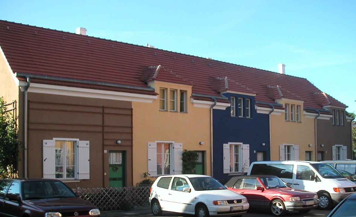 Tuschkastensiedlung in Berlin-Bohnsdorf. (Foto: Guido U. Draheim)