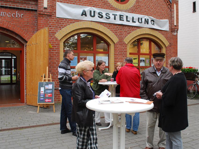 Kulturbeirat präsentiert seine Arbeit vor der Alten Feuerwache.