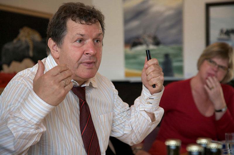 Siegfried Matlok, Chefredakteur der deutschen Tageszeitung Der Nordschleswiger