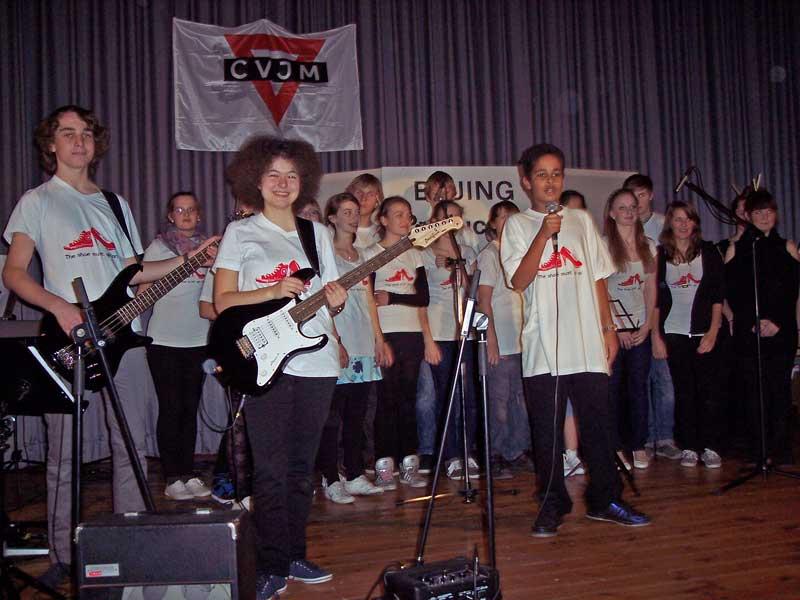 Band und Chor. (Foto: jl)