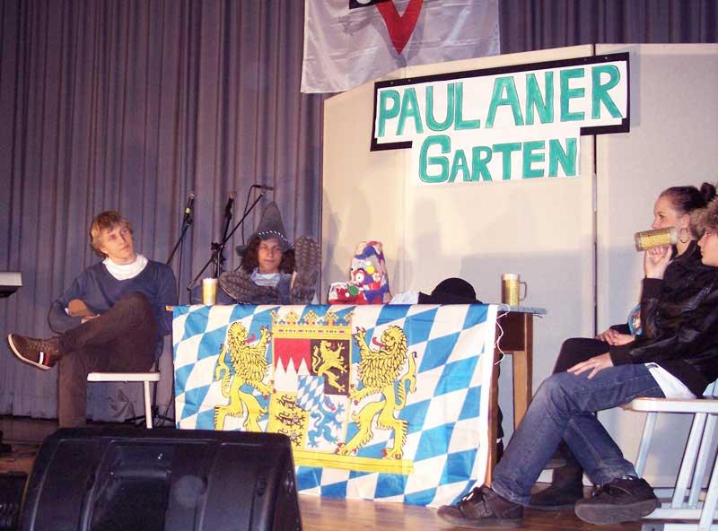 Eine Szene spielt in einem bayerischen Biergarten. (Foto: jl)