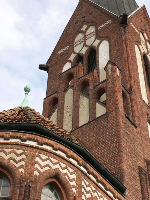 Evangelische Kirche Eichwalde. (Foto: Burkhard Fritz)