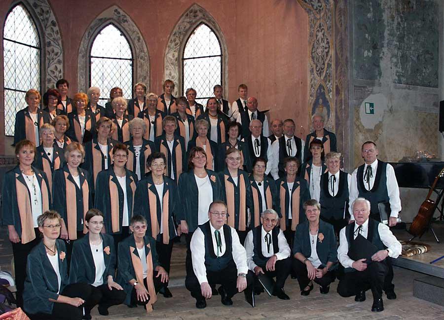 Bereits im vergangenen Jahr trat die Chorgemeinschaft Eichwalde in der Schulzendorfer Patronatskirche auf. (Foto: Martina Büttner)
