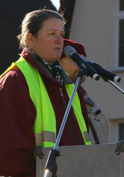 Astrid Bothe, Vorsitzende des Bürgervereins Brandenburg-Berlin, erklärte am Montag ihren Rücktritt. (Foto: Jörg Levermann)