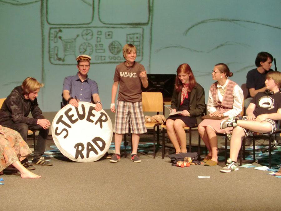 Ein Musical inszenierten die Schüler der Evangelischen Schule Köpenick. (Foto: Jochen Springborn)