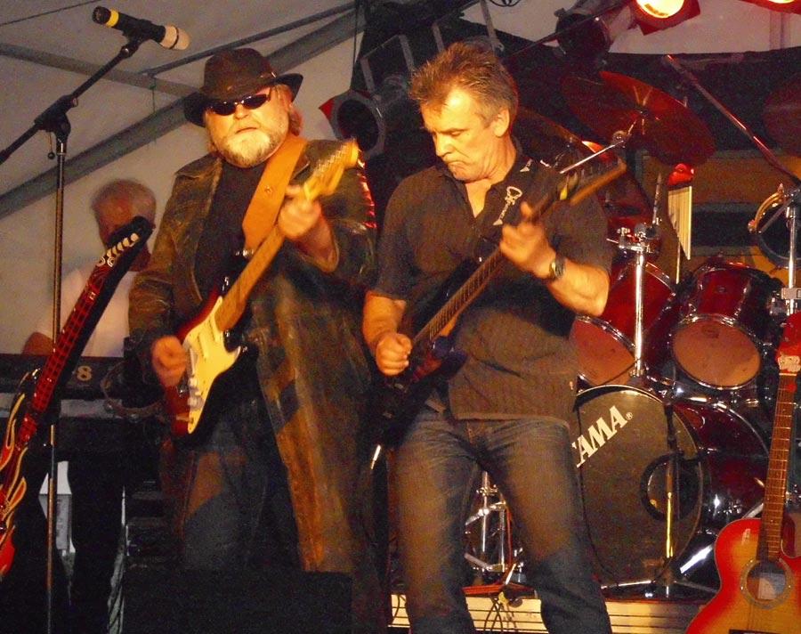 Die Band Hai ist seit 40 Jahren bekannt für handgemachte Rockmusik aus der Region. (Foto: Gernut Franke)