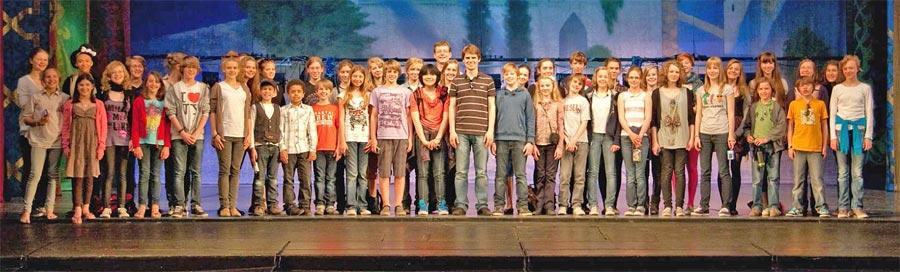 Der Kinderchor der Staatsoper Berlin (Foto:Staatsoper Berlin)