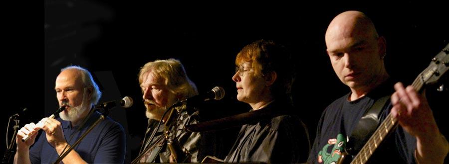 Die Berliner Band Grünland eröffnet mit Irish Folk die Konzertreihe zum Rosenfest. (Foto: Grünland)