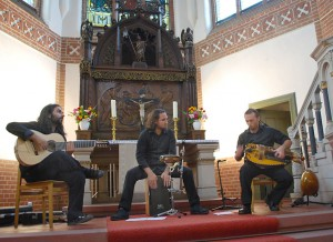 Die Gruppe KRAMA entführte die Konzertbesucher musikalisch bis nach Indien. (Foto: Burkhard Fritz)
