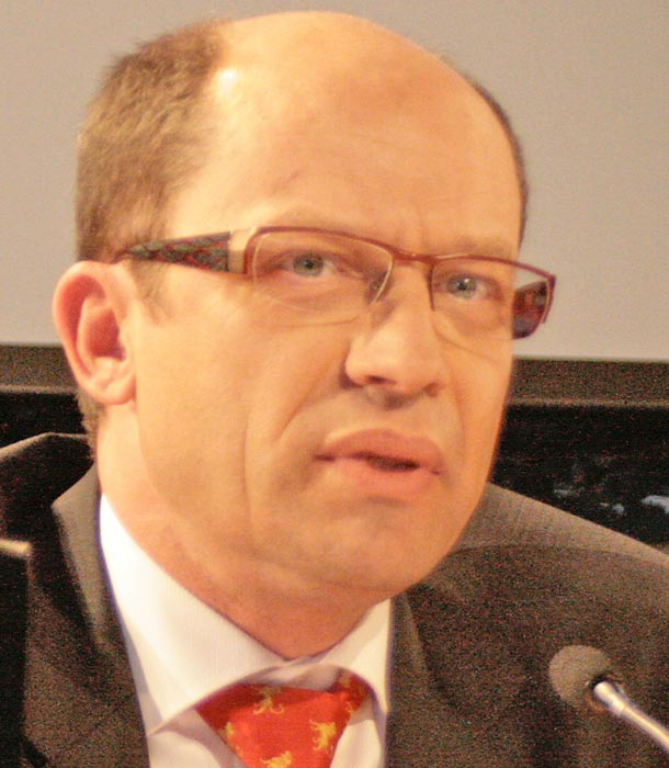 Hans Niebergall, Leiter der Berliner DFS-Niederlassung. (Archivfoto: Jörg Levermann)