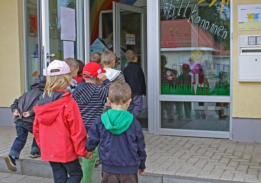 Die Kita Pinoccio ist eine von zwei kommunalen Kindertagesstätten in Eichwalde. (Foto: Jörg Levermann)