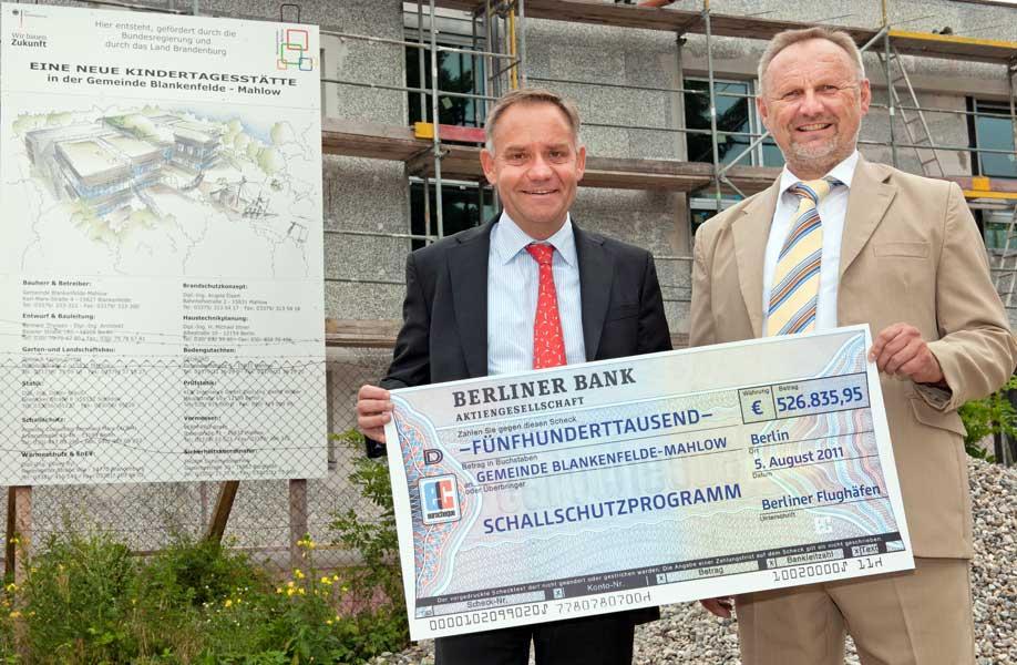 Prof. Dr. Rainer Schwarz und Ortwin Baier.