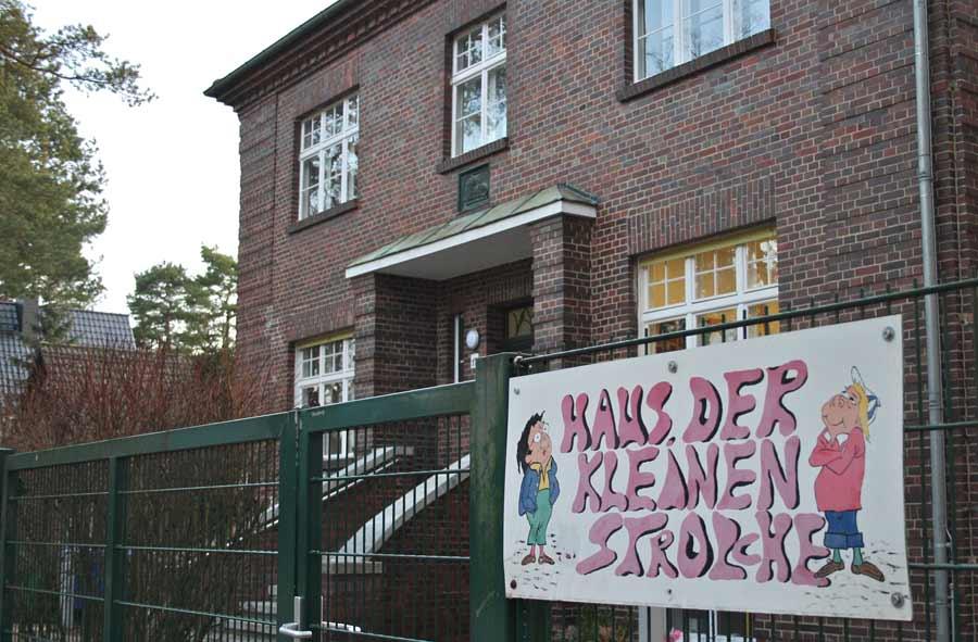 Haus der kleinen Strolche, KiTa der Gemeinde Eichwalde. (Foto: Jörg Levermann)