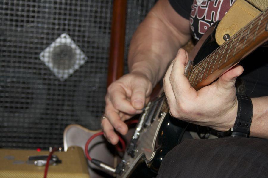 E-Gitarre. (Foto: Jörg Levermann)