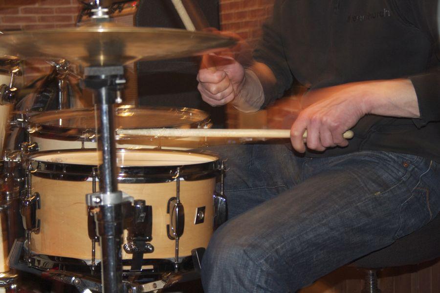 Schlagzeug. (Foto: Jörg Levermann)