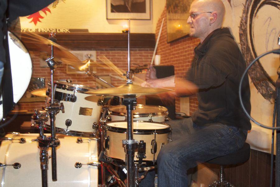 Schlagzeuger Silvio Remus. (Foto: Jörg Levermann)