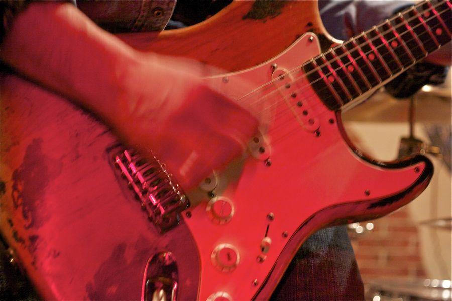 Blues-Gitarre. (Foto: Jörg Levermann)