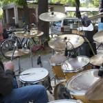 Sven Duscha am Schlagzeug. (Foto: Jörg Levermann)