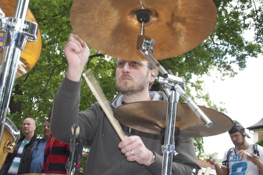 Ex-Schlagzeuger Sven Duscha. (Foto: Jörg Levermann)