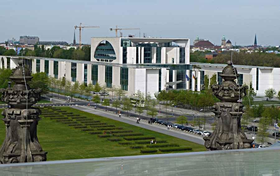 Mitglieder des Eichwalder Gewerbeverbandes besuchten kürzlich das Bundskanzleramt in Berlin. (Foto: Harald Gebauer)