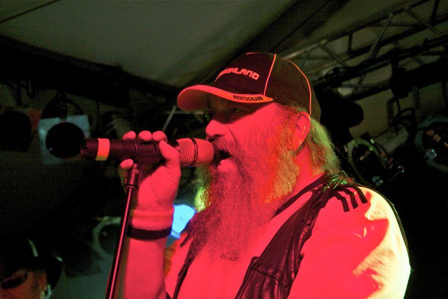 Hans-Dieter Luft, Sänger der Rockband Hai. (Foto: Jörg Levermann)