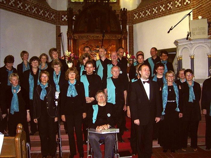 Der Paul-Robeson-Chor gastiert in der evangelischen Kirche am Händelplatz. (Foto: Burkhard Fritz)