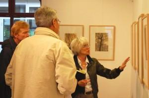 Noch bis einschließlich Sonntag ist die Taut-Ausstellung in der Alten Feuerwache zu sehen. (Foto: Burkhard Fritz)