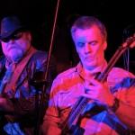 Volkmar Deglmann und Peter Hammerschmidt, Gitarristen der Band Hai. (Foto: Jörg Levermann)