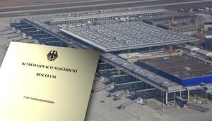 Das Bundesverwaltungsgericht wies heute die Klagen gegen Planfeststellungsbeschluss zurück. (Montage mit Foto von Dirk Laubner / Flughafen Berlin Brandenburg)