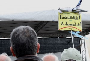 Rechtsstaatlichkeit und Vertrauensschutz sehen viele vom Fluglärm Betroffene in Gefahr. (Foto: Jörg Levermann)