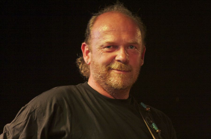 Bernd Dürholt, Bassist bei Wolle and Friends. (Foto: Jörg Levermann)