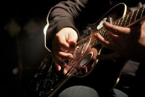 Dobro-Gitarre. (Foto: Jörg Levermann)