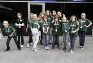 Begeistert am Chorgesang sind die Kinder- und Jugendlichen der Eichwalder Chorgemeinschaft. (Foto: Eichwalder Chorgemeinschaft)