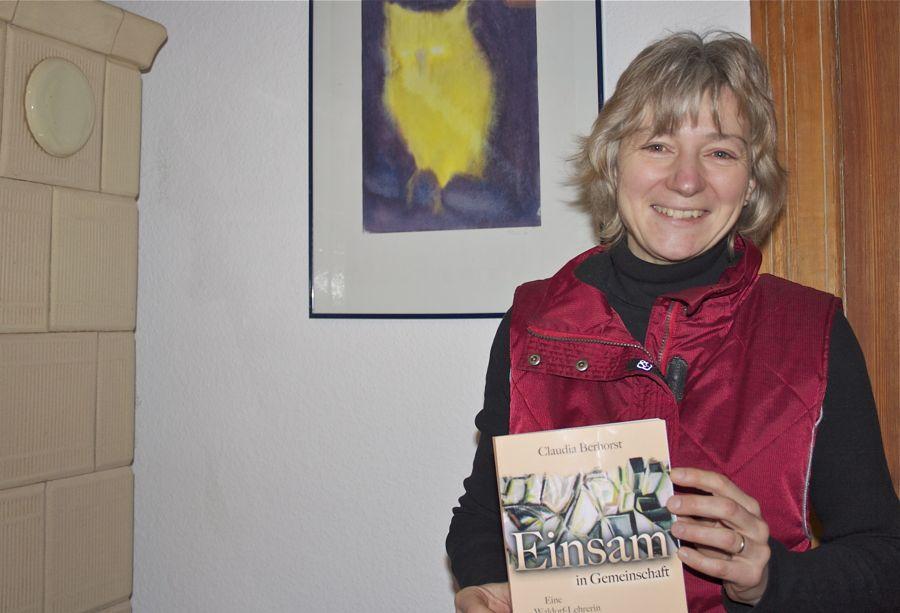 Claudia Berhorst schrieb einen Roman über ihre Erfahrungen, die sie an einer Waldorfschule sammelte. (Foto: Jörg Levermann)