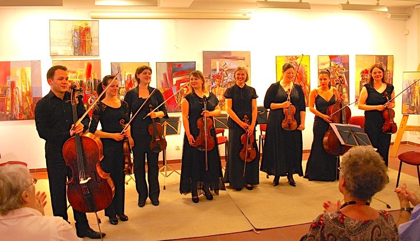Stipendiaten der Orchesterakademie der Staatskapelle Berlin gaben ein Konzert in der Alten Feuerwache (Foto: buschek)