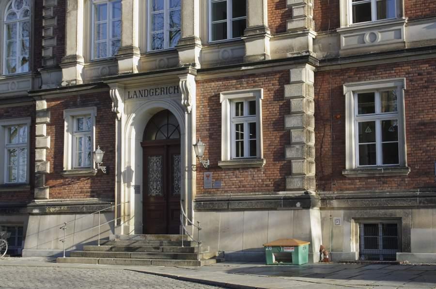 Das Foto zeigt das Gebäude des Amtsgerichts Cottbus. Erbaut wurde es 1876 auf dem Gerichtsberg in Cottbus. (Foto: Jörg Levermann).