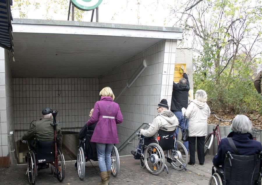 Bereits 2019 soll der Bahnhof in Eichwalde barrierefrei sen. (Archiv-Foto: Jörg Levermann)