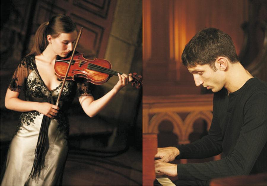 Fanny Robilliard und François Lambret, Musiker der Spitzenklasse geben in Eichwalde ein Kammerkonzert. (Fotos: Agentur)