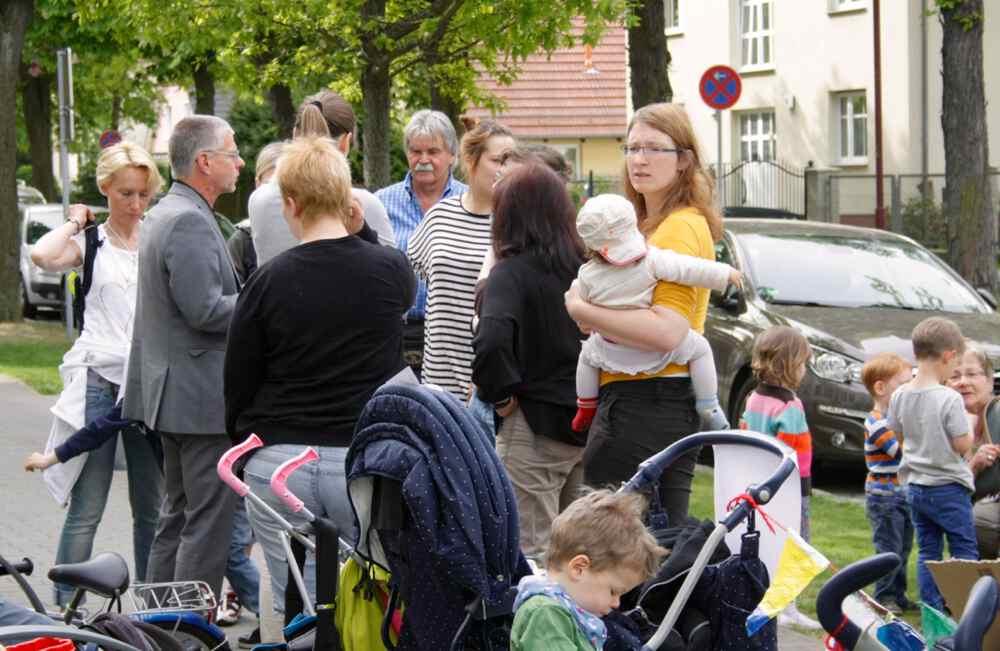 Eltern in Eichwalde unterstützen Kita-Streik