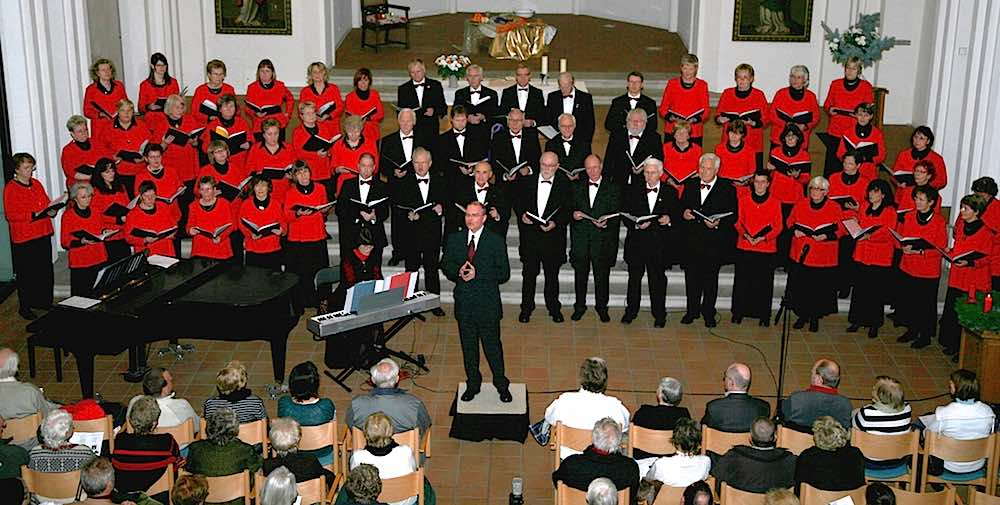 Ursprünglich gründeten Eisenbahner den Ernst-Moritz-Arndt-Chor in Berlin. In Eichwalde war er schon häufiger zu Gast. (Foto: Ernst-Moritz-Arndt-Chor)
