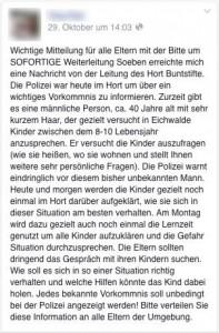 Die Falschmeldung über einen etwa 40-jährigen Mann, der Kinder in Eichwalde ansprechen soll, verbreitete sich über Facebook wie ein Lauffeuer.