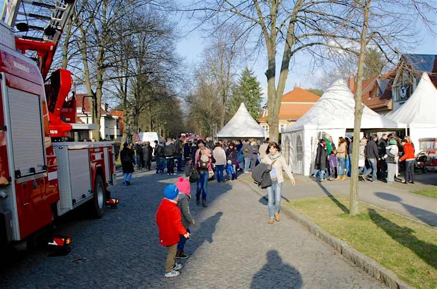 Beim Frühlingsfest der Feuerwehr stehen Jugendliche im Mittelpunkt