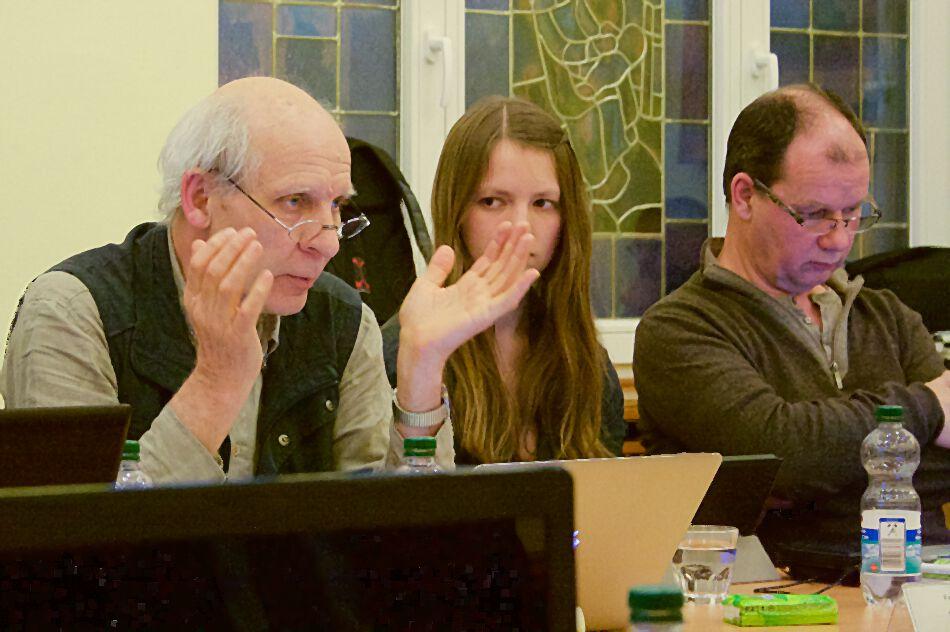 WIE-Fraktionssprecher Alf Hamann warnt vor möglichem Haushaltsstopp in den nächsten Jahren. (Foto: Jörg Levermann)
