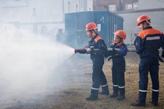 Die Jugendfeuerwehr wird auch in diesem Jahr beim Frühlingsfest ihr Können unter Beweis stellen. (Foto: Jörg Levermann)
